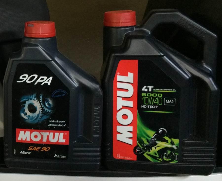 Wymiana oleju w skuterze miejskim – Kymco People GT 125i