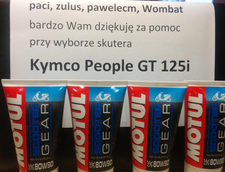 Kymco People GT 125i – czy dobrze wybrałem? Konkurs weekendowy.