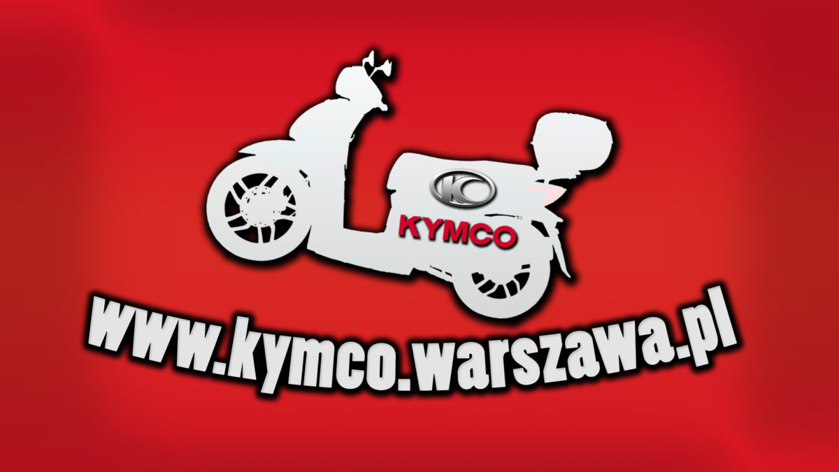 Kymco Warszawa – mamy nowe kolory w naszym LOGO
