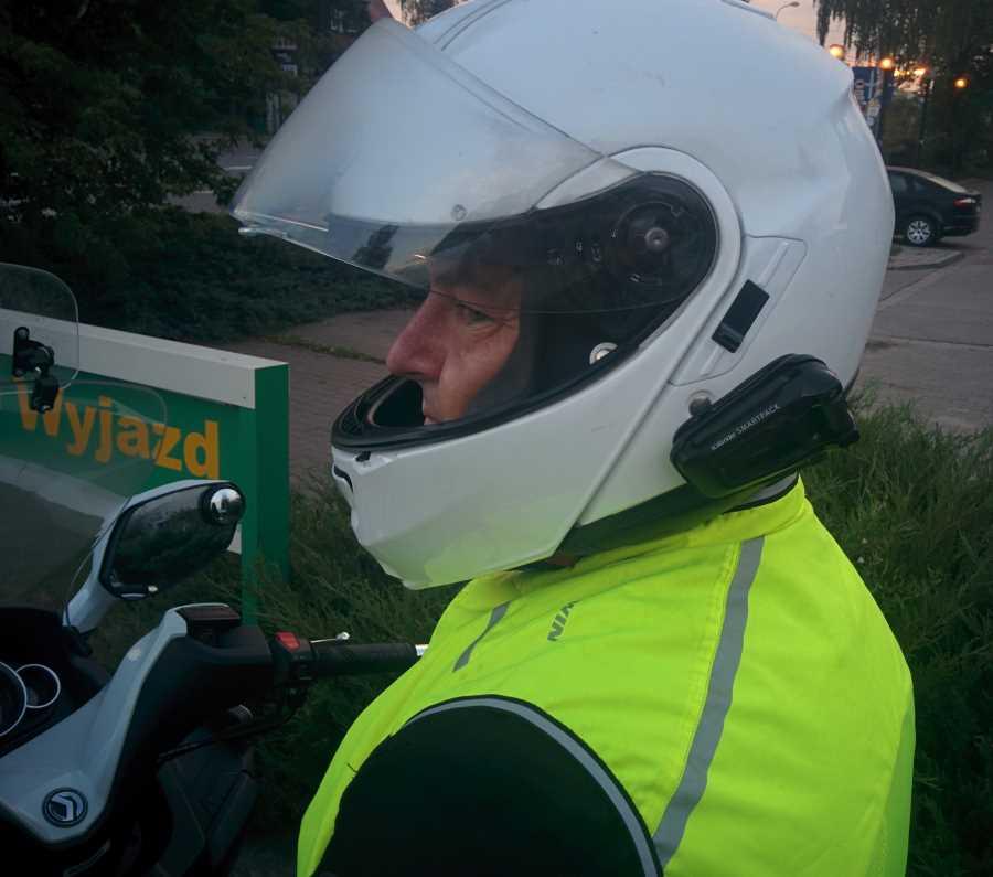 interkomy dla motocyklistów cardo