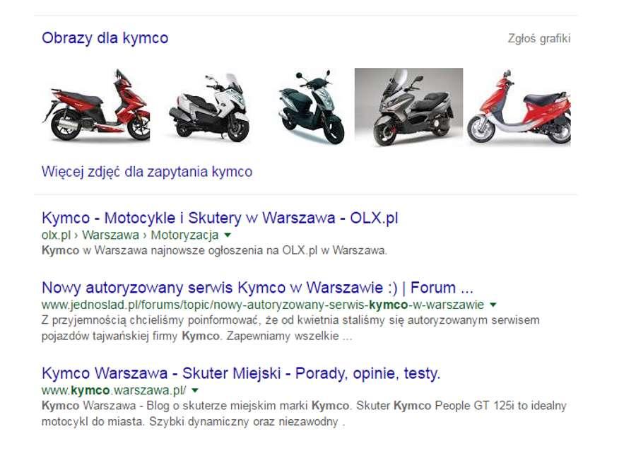 Domena www.kymco.warszawa.pl wraz ze stroną na sprzedaż!