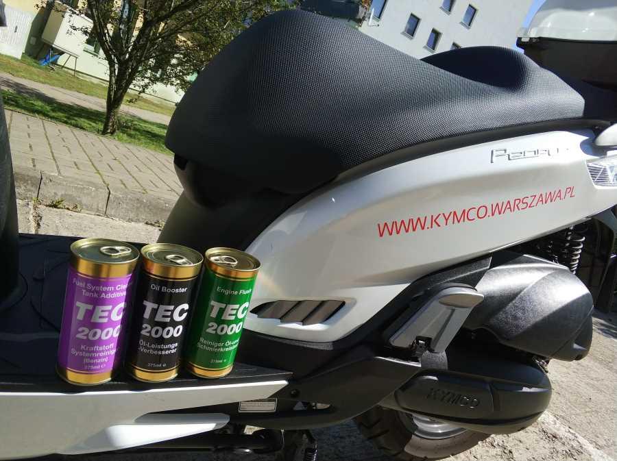 Chemia motocyklowa dla użytkowników Kymco .