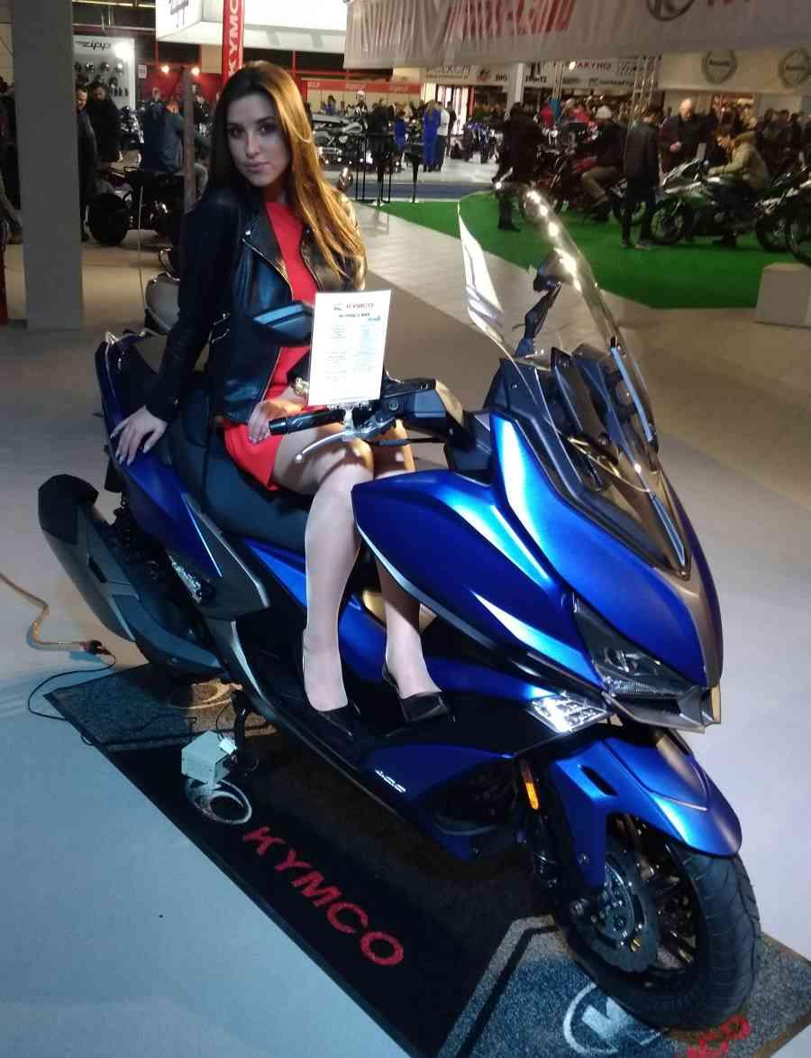 Kymco – Targi Warsaw Motorcycle Show